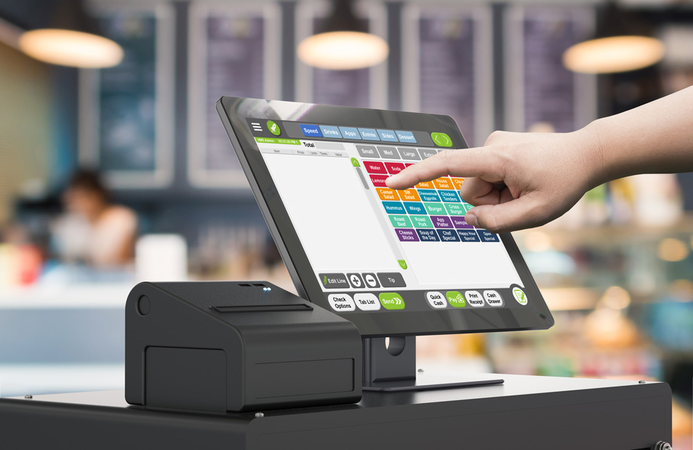 point of sale system for payment processing